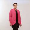 Vesna Cardigan: Fiery Fuchsia