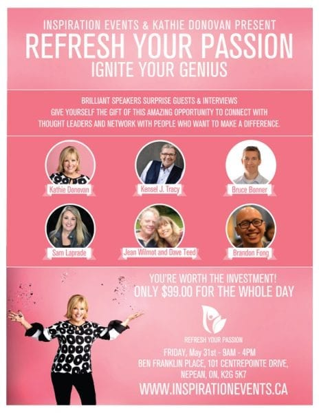 Kathie Donovan's Refresh Your Passion