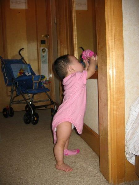 Maddi in the mirror