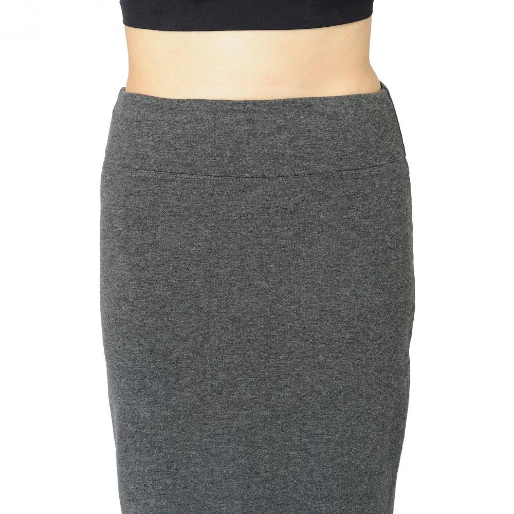 Charcoal Grey Patti Pencil Skirt
