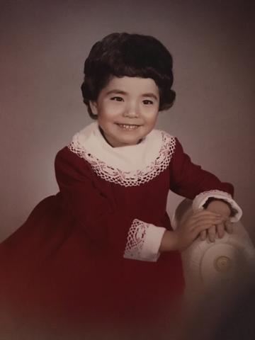 Our This Is Us Story: Episode 5 - Life Comes Full Circle, My red velvet dress made by my mom