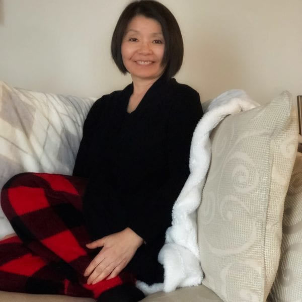 Week 4…already…time to chillax with a new cardi by Colleen Kanna
