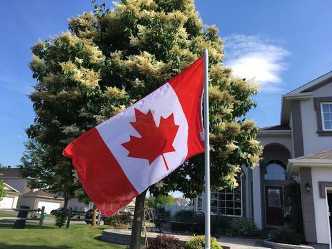 Not like the Canada 150 celebration 3 years ago