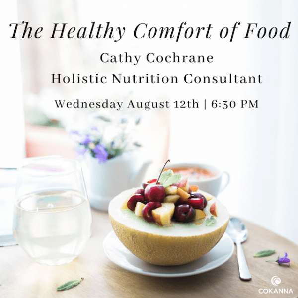 The Healthy Comfort of Food with Cathy Cochrane