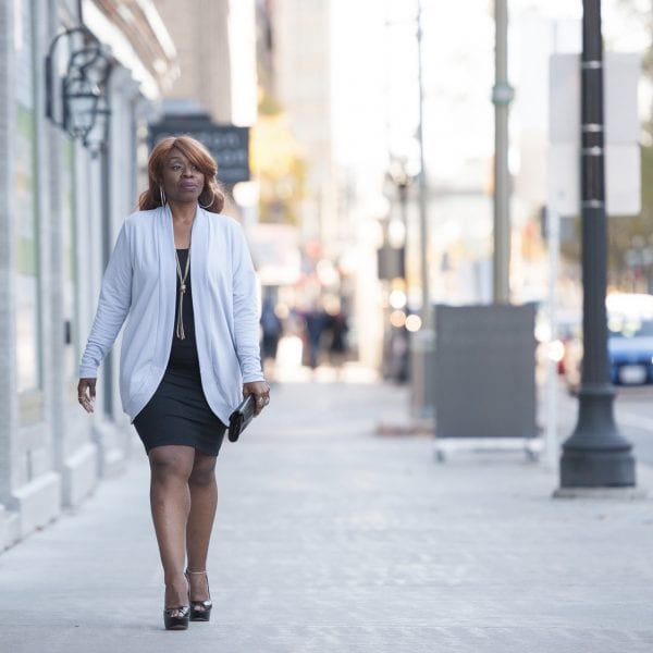 Week 4…already…time to chillax with a new cardi by Colleen Kanna, Photo by Anna Epp Photography