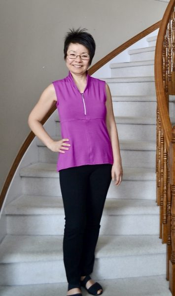 How can we as woman support one another by Colleen Kanna. My first sample top made by Twiss & Weber