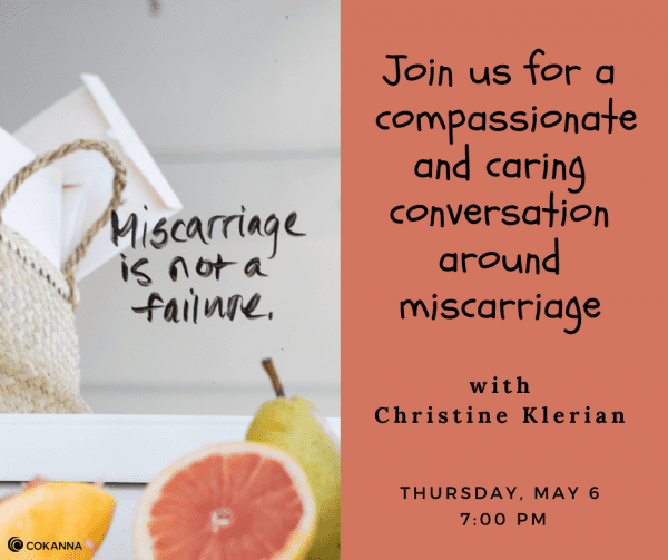 Let's Talk About Our Miscarriages with Christine Klerian