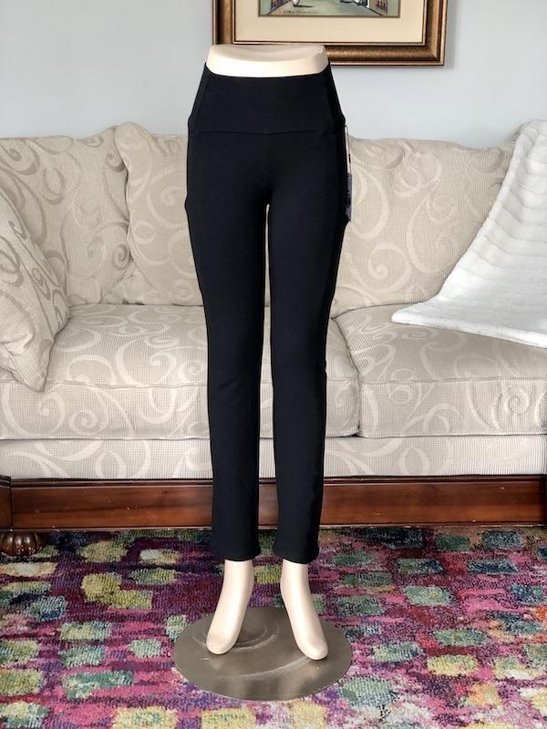 Joy Bamboo Pocket Pant in Black