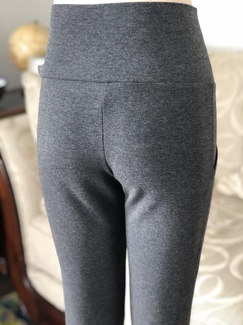 Joy Bamboo Pocket Pant in Charcoal