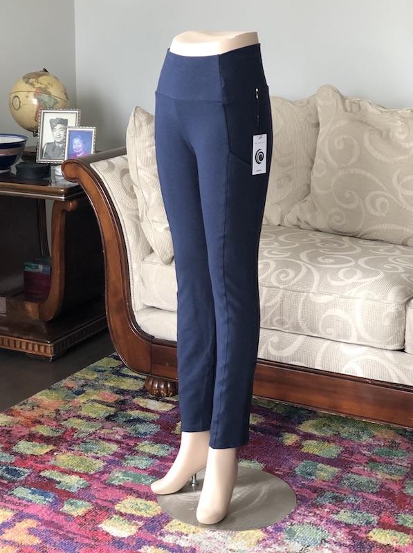 Joy Bamboo Pocket Pant in Navy