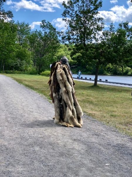 A visit to Old Fort William by Colleen Kanna, Photo of fur trader