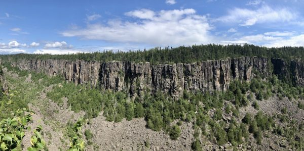 A Visit to Old Fort William by Colleen Kanna, Photo of Ouimet Canyon