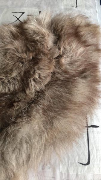 Recycling Reusing Repurposing Pre-loved Fur by Colleen Kanna, Fur donated by Giselle