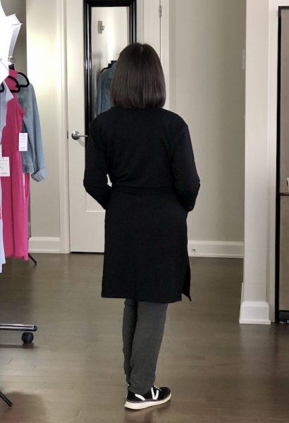Lindsay Bamboo Cardi-robe in Midnight Black