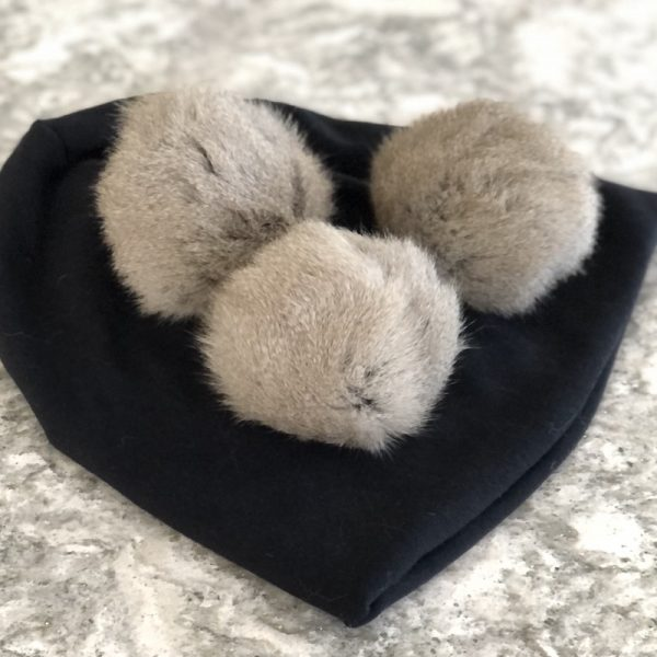 Recycling Reusing Repurposing Pre-loved Fur by Colleen Kanna, Fur donated by Christine