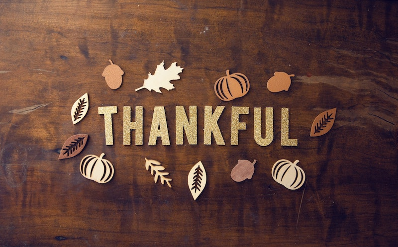 Feeling grateful this Thanksgiving weekend by Colleen Kanna, Photo by Pro Church Media on Unsplash
